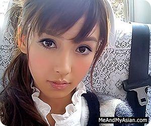 Asian teen handjob